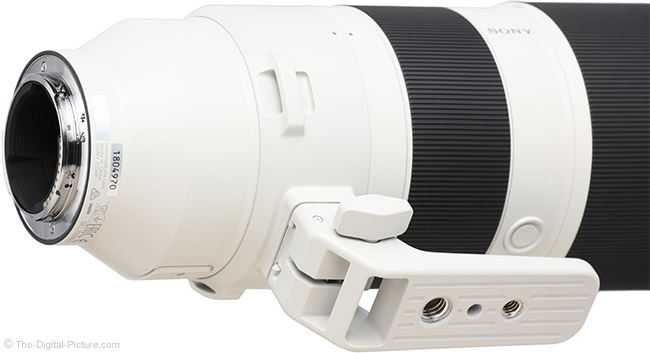 Sony FE 200-600mm f/5.6-6.3 G OSS Lens Mount