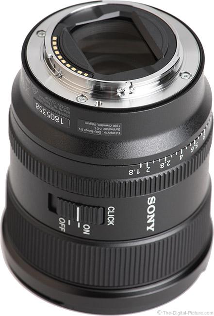 Sony FE 20mm f/1.8 G Lens Mount