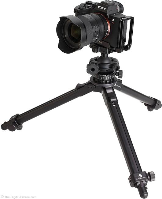 Sony FE 20mm f/1.8 G Lens on Tripod