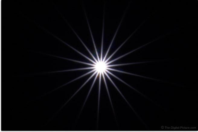 Sony FE 20mm f/1.8 G Lens Sunstar Effect Example