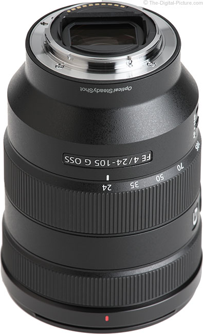 Sony FE 24-105mm f/4 G OSS Lens Mount