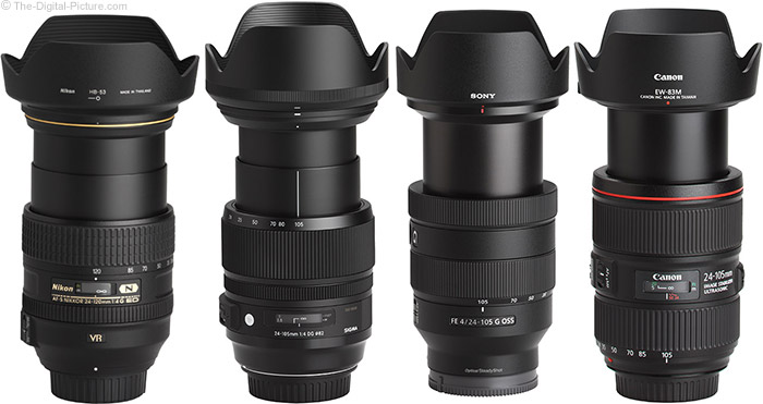 Sony FE 24-105mm f/4 G OSS Lens Review