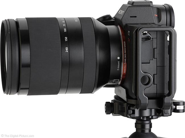 Sony FE 24-240mm f/3.5-6.3 OSS Lens Side View