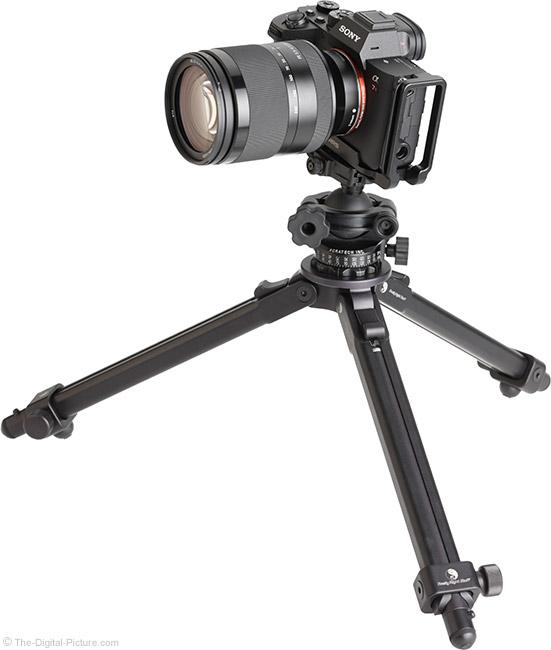Sony FE 24-240mm f/3.5-6.3 OSS Lens on Tripod