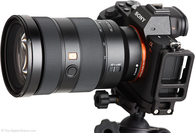 Sony FE 24-70mm f/2.8 GM Lens Angle
