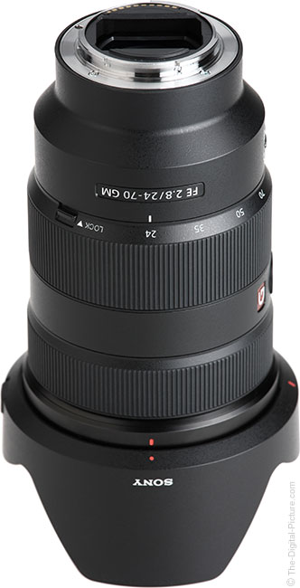Sony FE 24-70mm f/2.8 GM Lens Mount