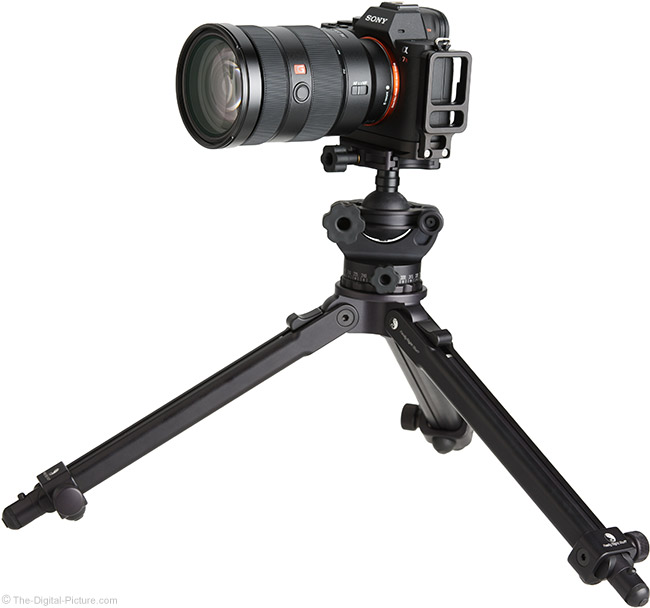 Sony FE 24-70mm f/2.8 GM Lens on Tripod