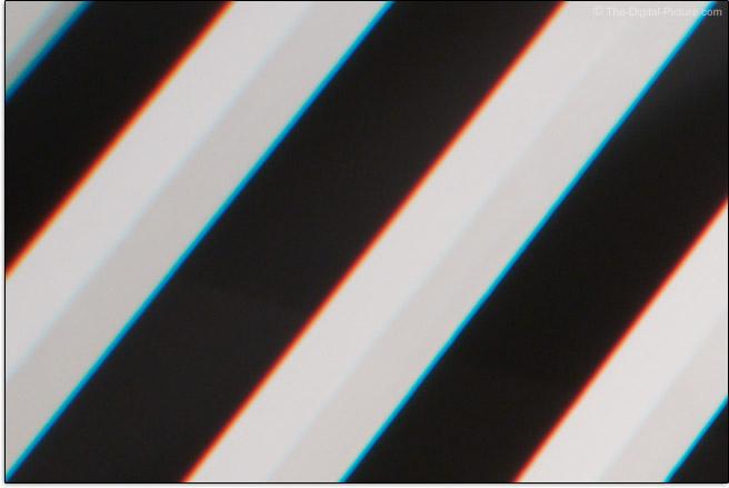 Sony FE 24-70mm f/4 ZA OSS Lens Lateral Chromatic Aberration Example