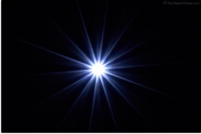 Sony FE 24-70mm f/4 ZA OSS Lens Sunstar Effect Example