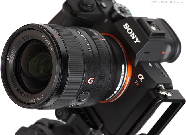 Sony FE 24mm f/1.4 GM Lens Angle View