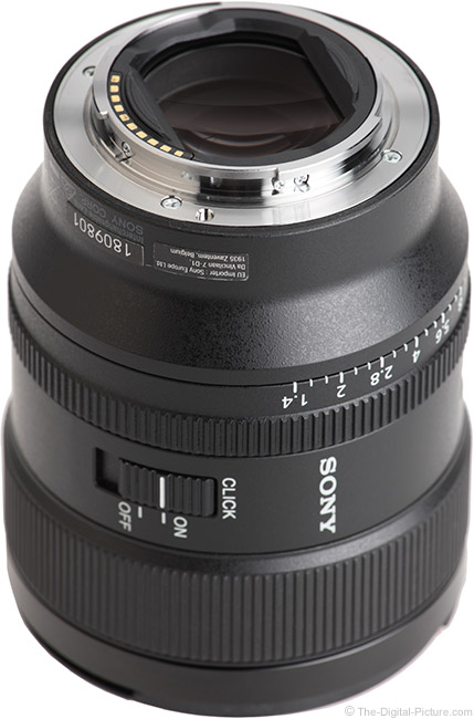 Sony FE 24mm f/1.4 GM Lens Mount