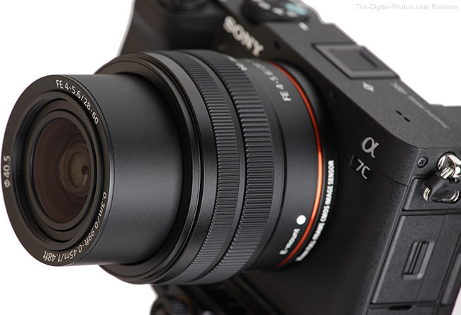 Sony FE 28-60mm f/4-5.6 Lens Angle Extended View 2