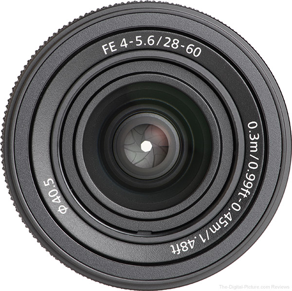 The new Sony FE 28-60mm f/4-5.6 Lens is In Stock at B&H