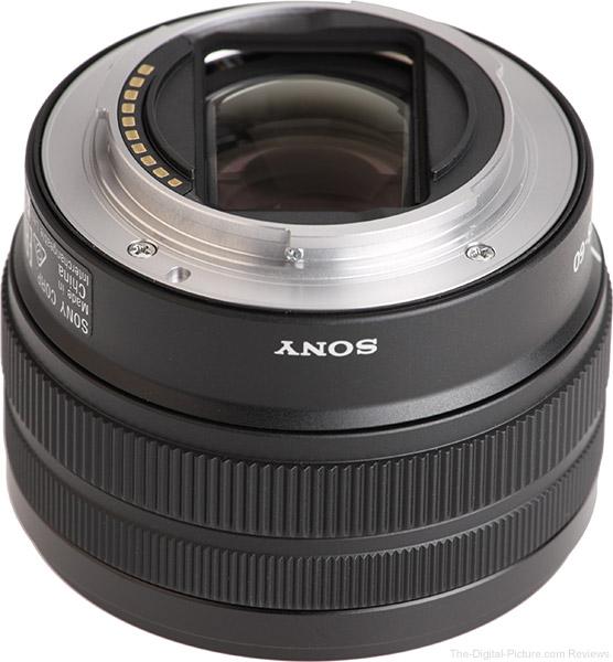Sony FE 28-60mm f/4-5.6 Lens Mount