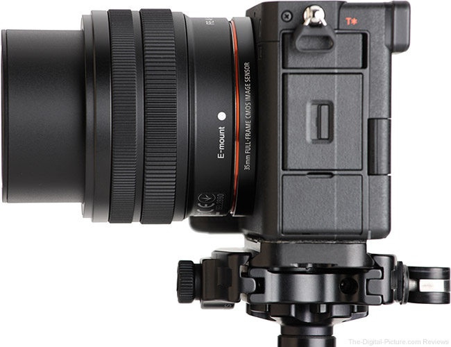 Sony FE 28-60mm f/4-5.6 Lens Side Extended View