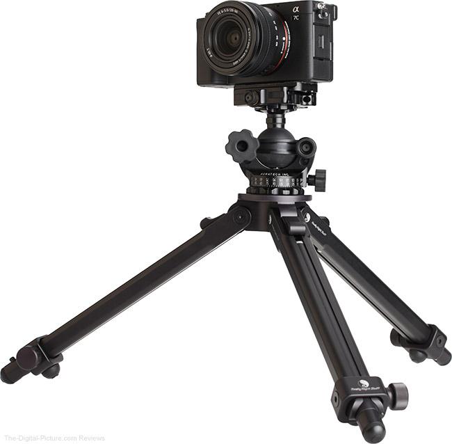 Sony FE 28-60mm f/4-5.6 Lens on Tripod