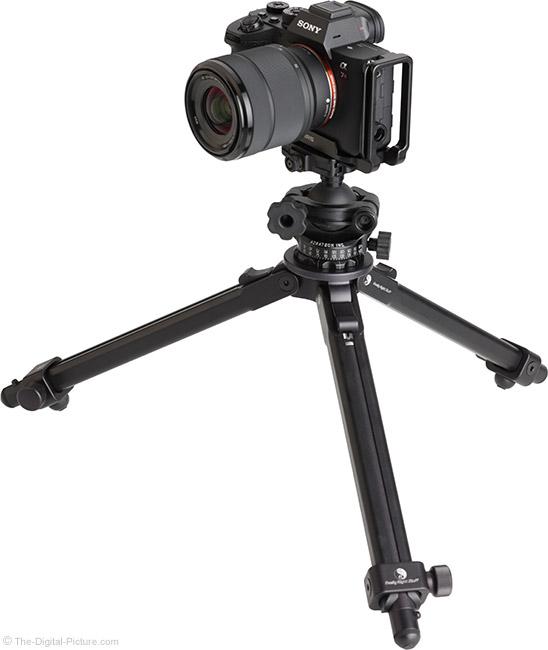 Sony FE 28-70mm f/3.5-5.6 OSS Lens on Tripod