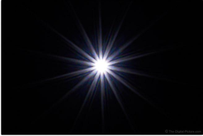 Sony FE 28-70mm f/3.5-5.6 OSS Lens Sunstar Effect Example
