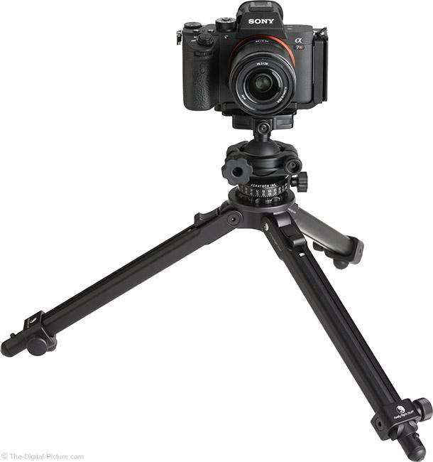 Sony FE 28mm f/2 Lens on Tripod