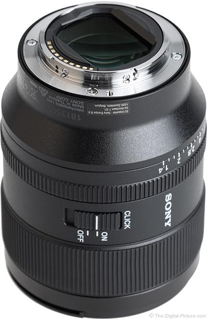 Sony FE 35mm f/1.4 GM Lens Mount
