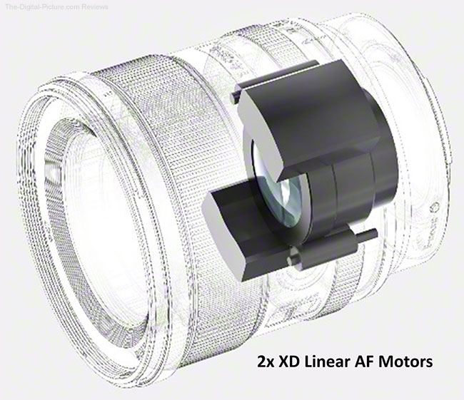 Sony FE 35mm f/1.4 GM Lens XD Linear Motors
