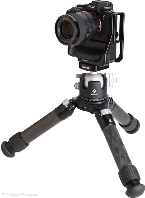 Sony FE 35mm f/1.4 GM Lens on Tripod
