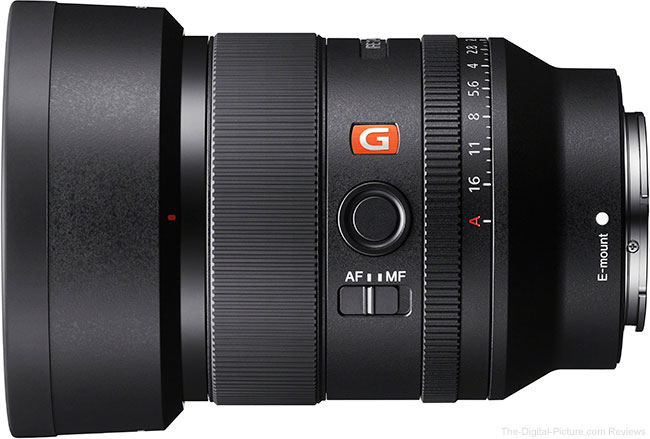 Sony FE 35mm f/1.4 GM Lens with Hood