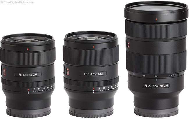 Sony GM Lenses