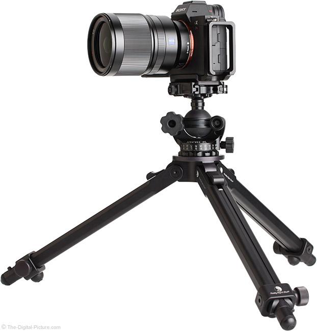 Sony FE 35mm f/1.4 ZA Lens on Tripod
