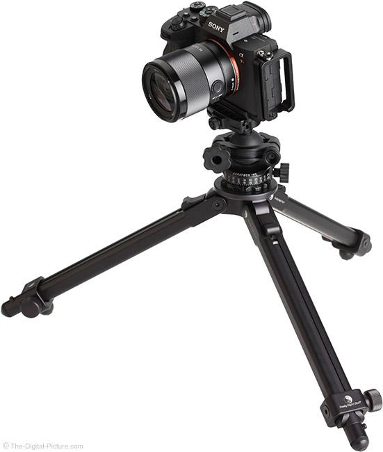 Sony FE 35mm f/1.8 Lens on Tripod