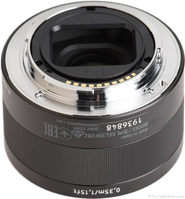 Sony FE 35mm f/2.8 ZA Lens Mount