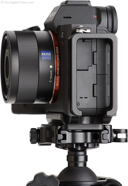 Sony FE 35mm f/2.8 ZA Lens Side View