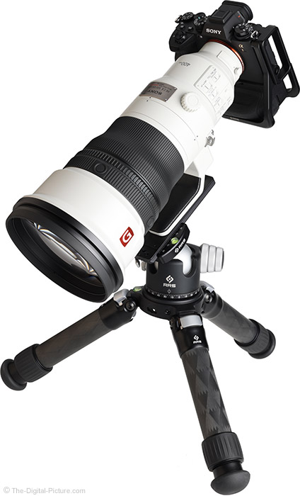 Sony FE 400mm f/2.8 GM OSS Lens Angle View