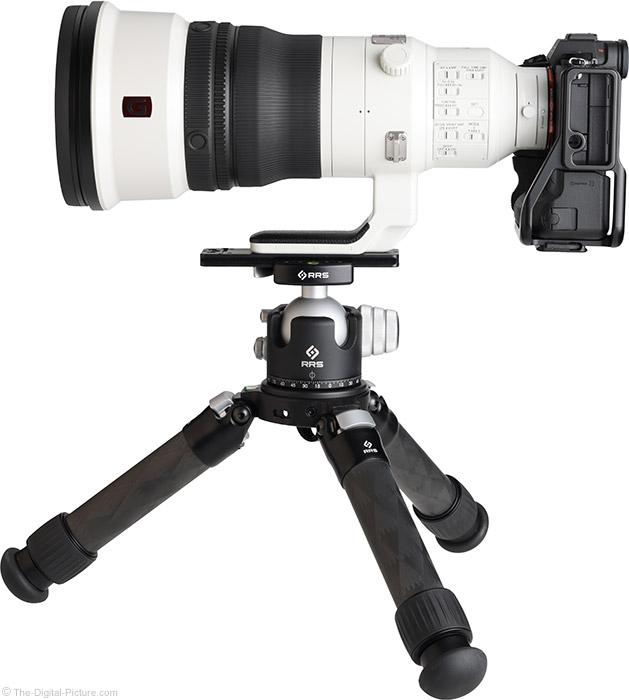 Sony FE 400mm f/2.8 GM OSS Lens Side View