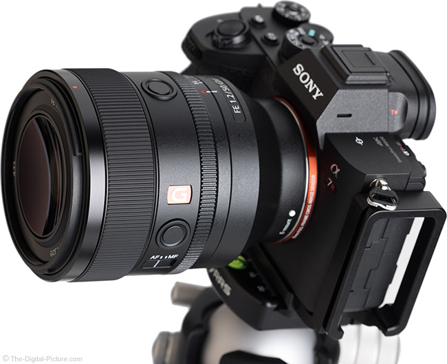 Sony FE 50mm f/1.2 GM Lens Angle View