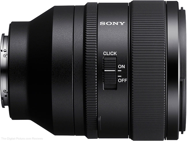 Sony FE 50mm f/1.2 GM Lens Click Switch