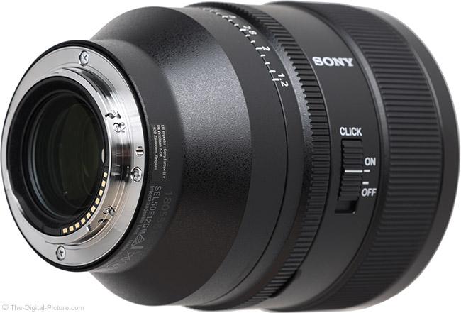 Sony FE 50mm f/1.2 GM Lens Mount