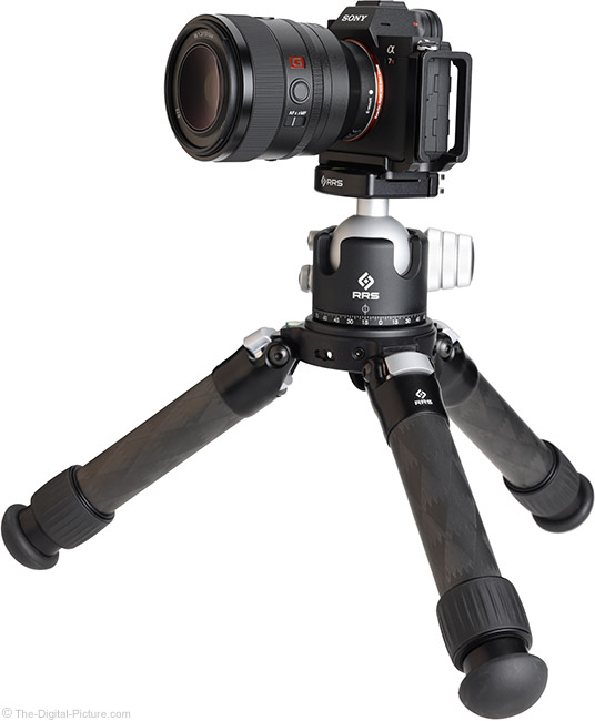 Sony FE 50mm f/1.2 GM Lens on Tripod