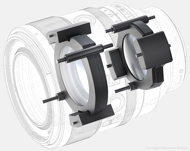 Sony FE 50mm f/1.2 GM Lens Linear Motors