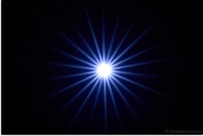 Sony FE 50mm f/1.2 GM Lens Sunstar Effect Example