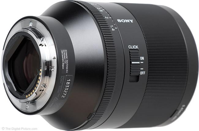 Sony FE 50mm f/1.4 ZA Lens Mount