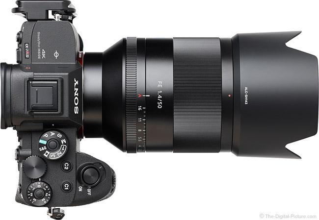 Sony FE 50mm f/1.4 ZA Lens