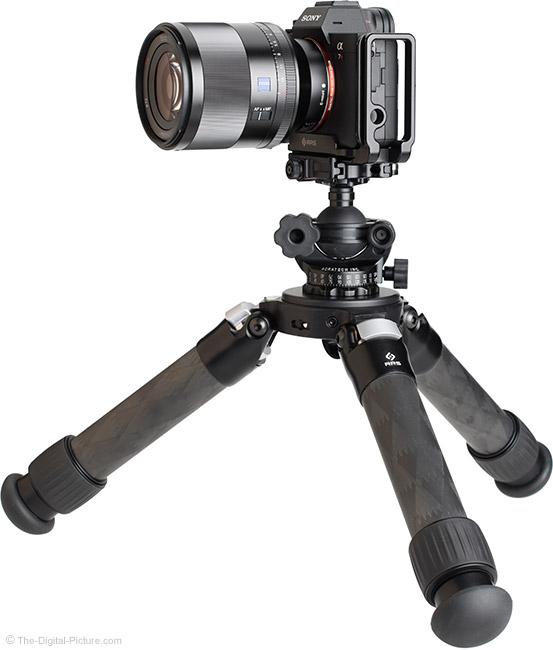Sony FE 50mm f/1.4 ZA Lens on Tripod