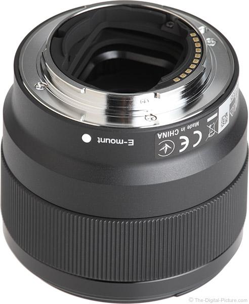 Sony FE 50mm f/1.8 Lens Mount