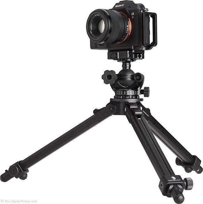 Sony FE 50mm f/1.8 Lens on Tripod