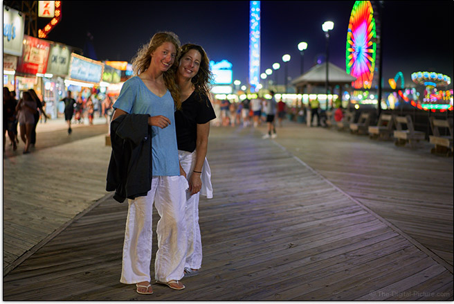 Sony FE 55mm f/1.8 ZA Lens Boardwalk Sample Picture