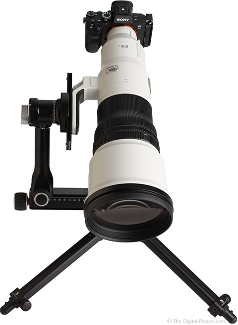 Sony FE 600mm f/4 GM OSS Lens Front View