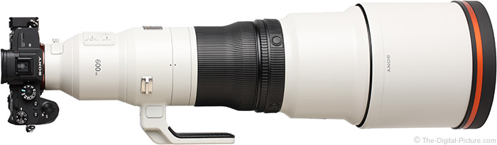 Act Fast: The Sony FE 600mm f/4 GM OSS Lens is Back In Stock at B&H!