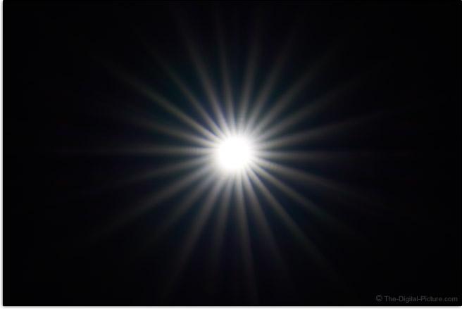 Sony FE 600mm f/4 GM OSS Lens Sunstar Effect Example
