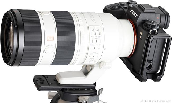 Sony FE 70-200mm F2.8 GM OSS II Lens Angle View